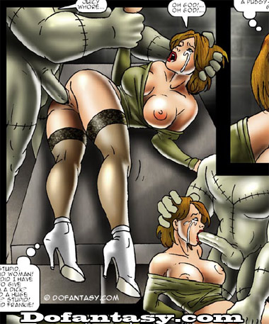 порно монстры комикс